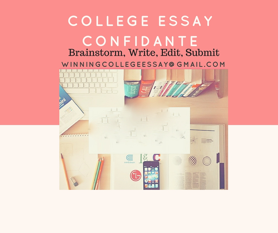 What are some good tips for working on college essays?